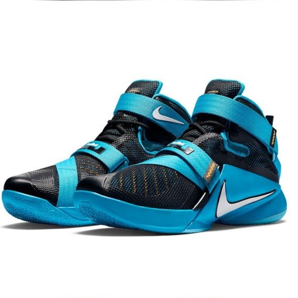 newest 11e93 081d9 netherlands nwot lebron soldier 9 blue lagoon ffa7d 0dada